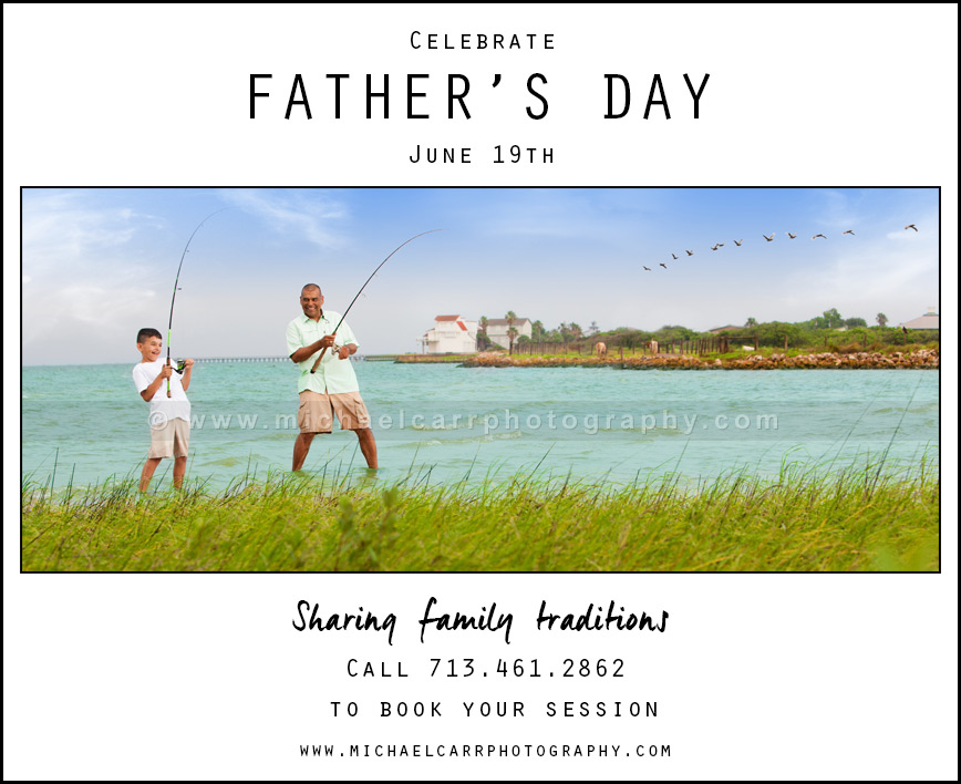 Family Traditions: Fishing with Dad
