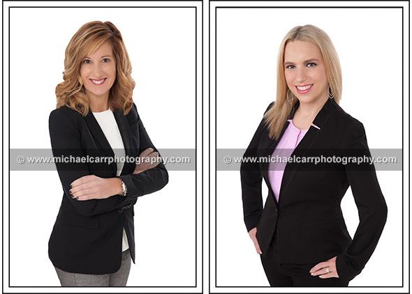 Women in business portraits width=