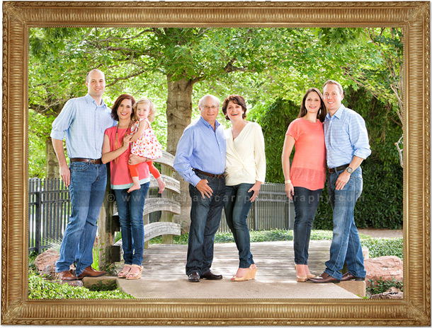 Houston Family Portraits Outdoor