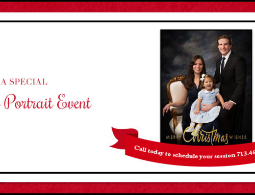 A Special Family Portrait Event
