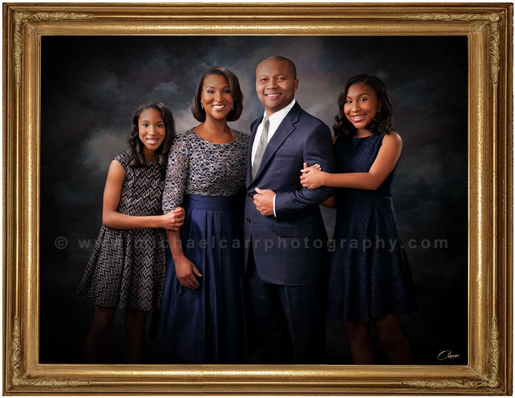 formal studio family portraiture houston family photographers